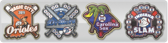 Sports Trading Pins