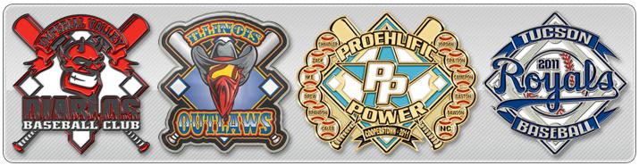 Trading Pins for Baseball